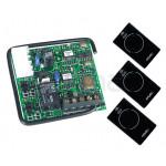 Kit Récepteur FAAC RP2 SLH 868 noire