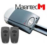 Kit moteur basculant sectionnelles Marantec Comfort 252.2 + Rails SK11